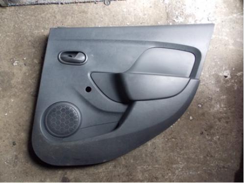 LOGAN II  Обшивка двери задняя правая (под механику)