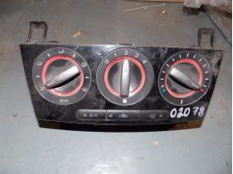 3 BK Блок управления отопителем