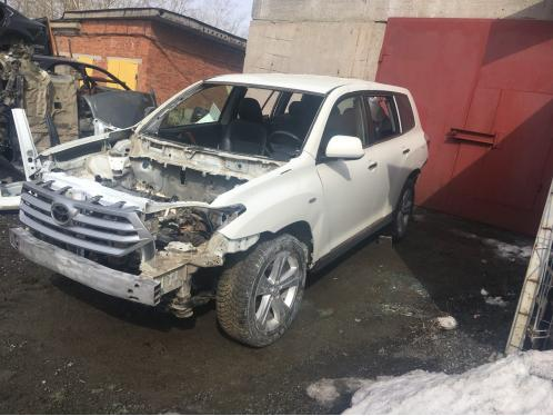 Toyota Highlander II 19.06.2018
