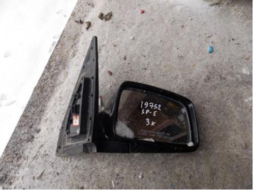 SPORTAGE Зеркало наружное правое электрическое (3 контактов, до 2008г)