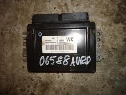AVEO T250 Блок управления двигателем 5WY1E57E 1.2л