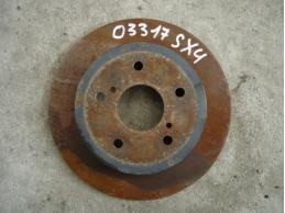 SX 4 Диск тормозной задний 1.6л