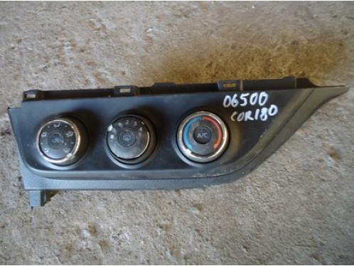 COROLLA E18  Блок управления печкой