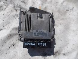 OCTAVIA A5 Блок управления двигателем  1Z0907115J МКПП 1.8л