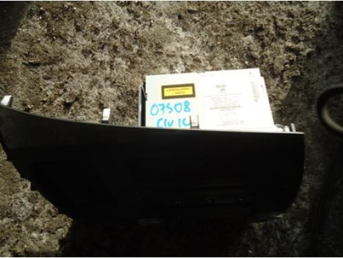 CIVIC 4D  Магнитола штатная MP3