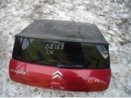C4Дверь багажника со стеклом (3-х дверный кузов)