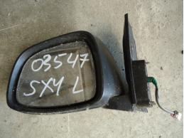 SX 4 Зеркало наружное левое (электрическое,5 контактов)