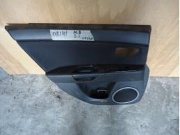 3 BK Обшивка двери задняя левая (седан,под электрику)