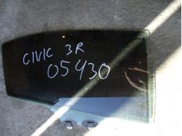 CIVIC 4D Стекло двери задней правой