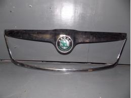 OCTAVIA A5 Накладка на решетку радиатора (хром, до 2009г)