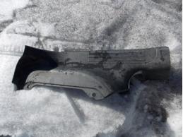 AVEO T250 Накладка на порог (внутренняя,задняя левая)