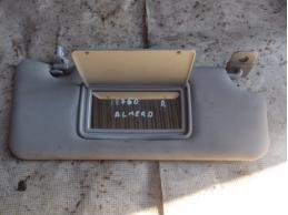 ALMERA G15 Козырек солнцезащитный (правый)