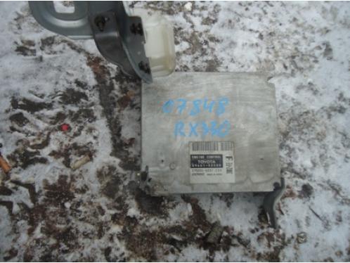 RX 300330350400H  Блок управления двигателем 8966148500 3MZFE 3.3л