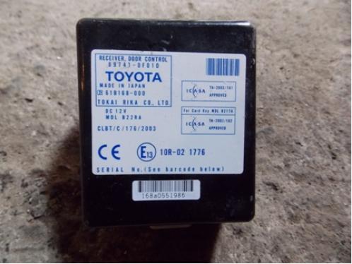 COROLLA VERSO  Блок управления центральным замком 897410F010