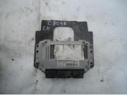 C4Блок управления двигателем 9662307380 МКПП 1.6л
